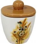 Ceramiczny pojemnik - bukiet polny