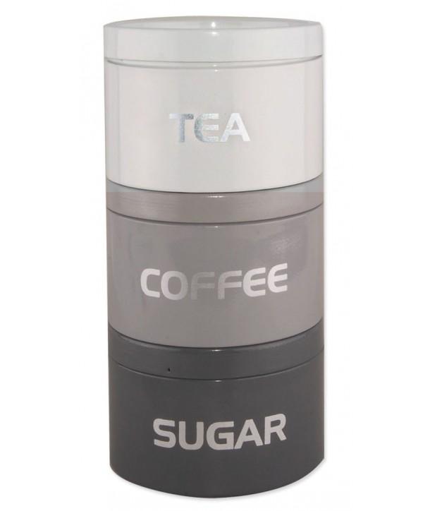 Puszki na kawę stalowa wieża