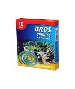 Spirala na komary Bross 10 szt