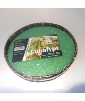 Eukaliptusowa sól do kąpieli, sól relaksacyjna 1,5 kg