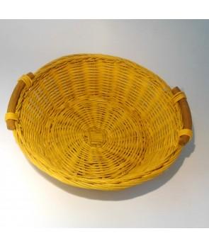 Koszyk na chleb żółty