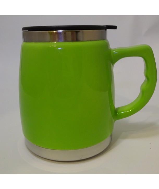 Kubek termiczny zielony