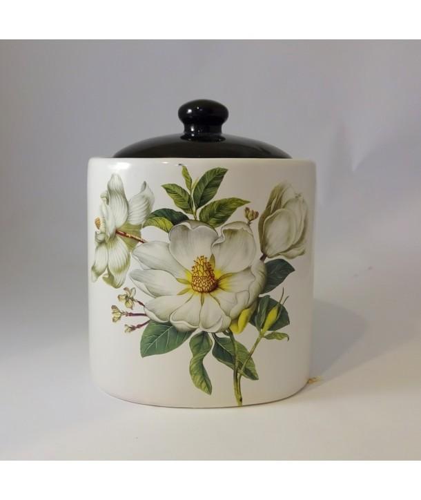 Pojemnik ceramiczny Biała Róża