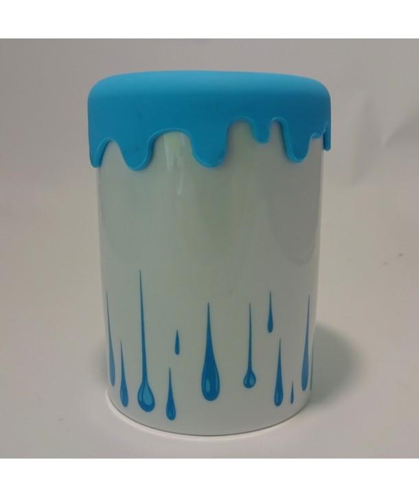 Pojemnik ceramiczny Niebieskie Łzy silikon