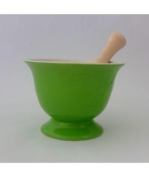 Moździerz ceramiczny Zielony