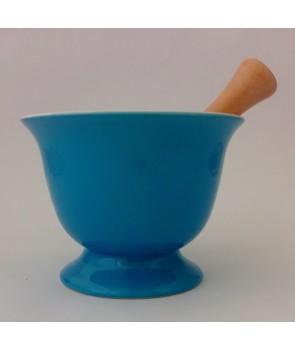 Moździerz ceramiczny Niebieski