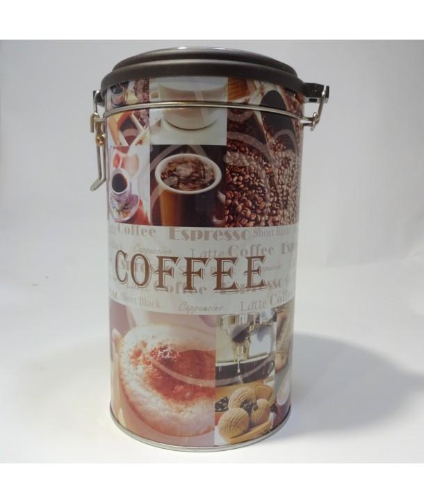 puszka na kawę, cukier, herbatę