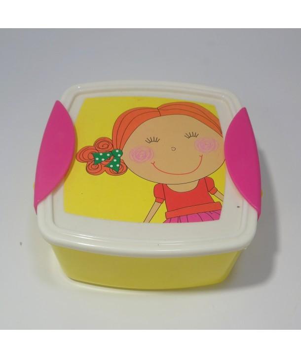 Pojemnik - śniadaniówka Dziewczynka