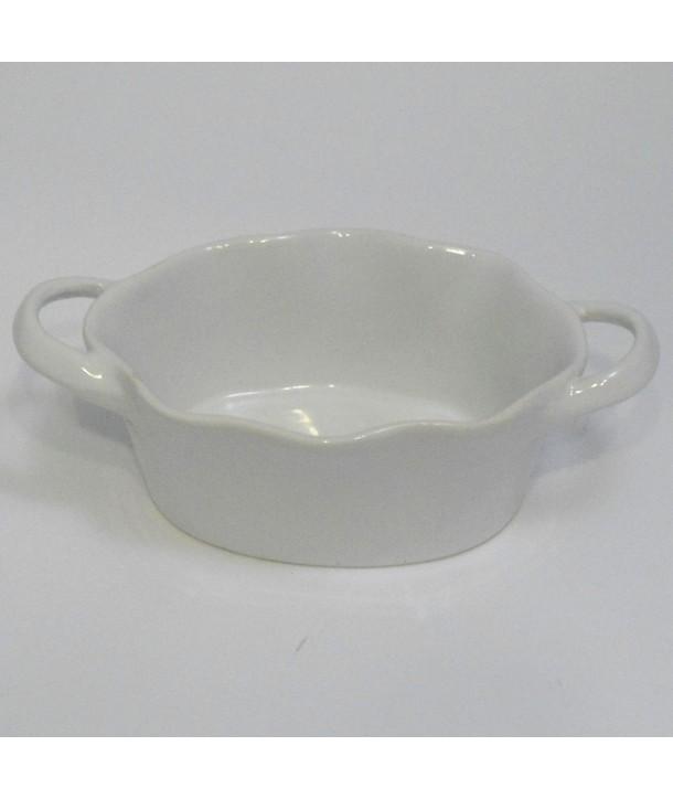Naczynie żaroodporne solówka białe