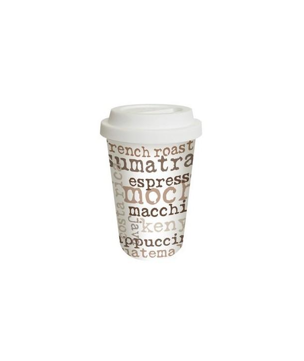 Kubek termiczny porcelanowy Cofee aporia