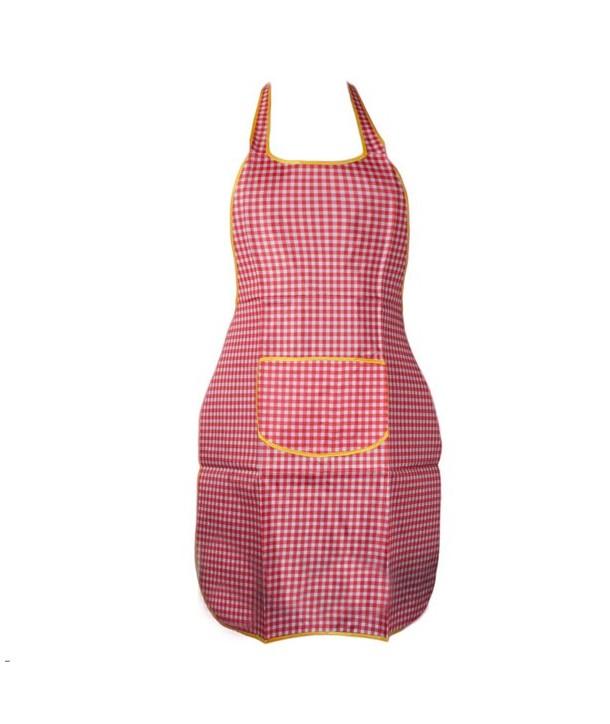 Fartuch kuchenny mix kolorów Różowa kratka