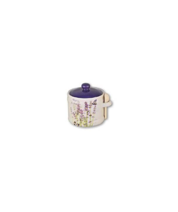 Pojemnik ceramiczny lawenda 400 ml