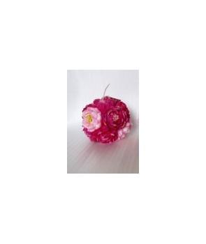 Świeca kula kwiatów