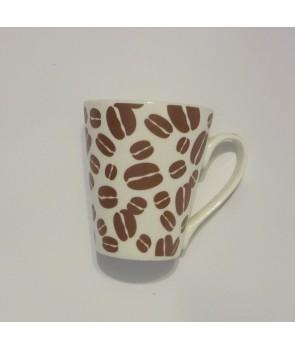 Klasyczny kubek - Caffe ziarenka