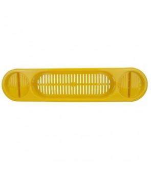 Półka na wannę żółta
