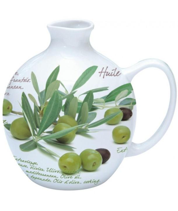 Porcelanowa butelka na oliwę 0,5 l
