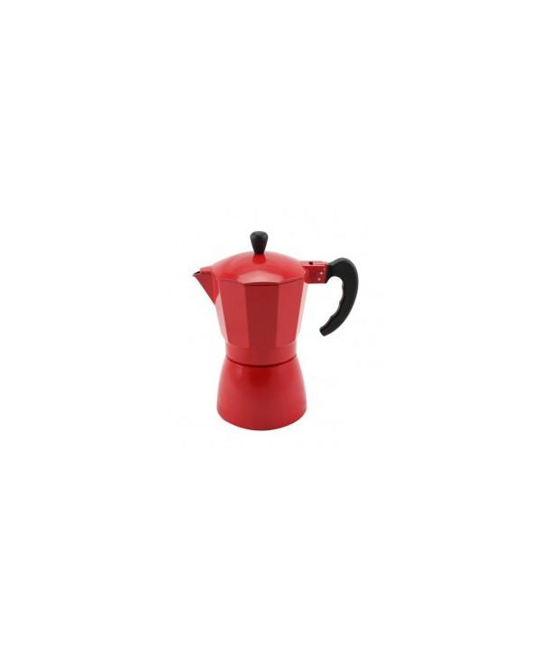 Kafeteria, zaparzacz do kawy Venetto Czerwony 300 ml