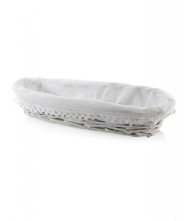 koszyk na chleb biały