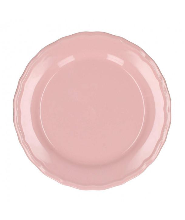 Talerz różowy 21 cm