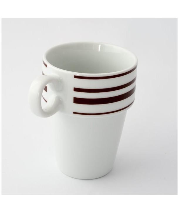 Kubek ceramiczny ze wzorem