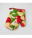 Rękawica kuchenna - wzór owoce Duże jabłka