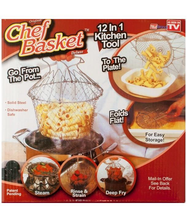 Koszyk go gotowania | smażenia 12w1